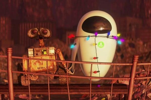 WALL-E EVA PIXAR