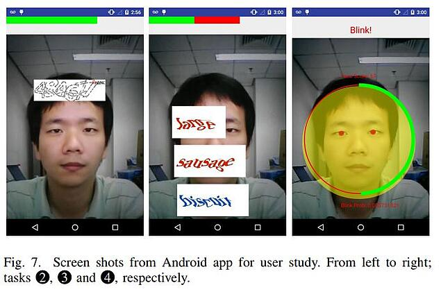 rtCaptcha facial recognition technology